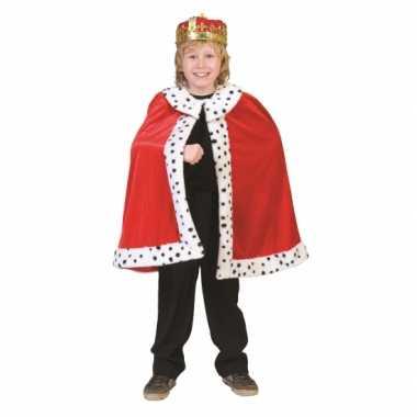 Carnaval  Konings cape kinderen kostuum