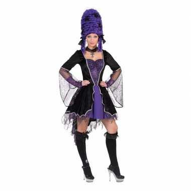 Carnaval korte vampieren jurk kostuum