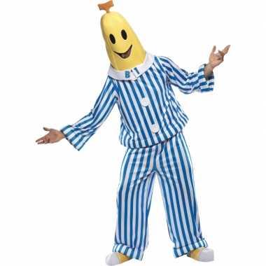 Carnaval  Kostuum bananas pyjamas volw.