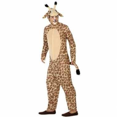 Carnaval kostuum giraf heren/dames