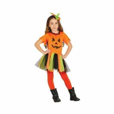 Carnaval  Kostuum kinderen pompoen jurkje