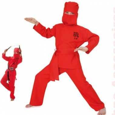 Carnaval  Kostuum ninja kids