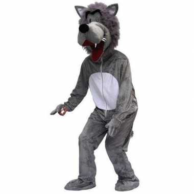 Carnaval kostuum wolf volwassenen