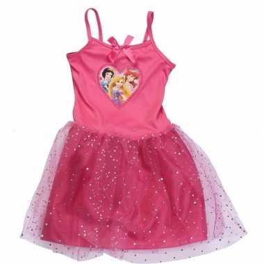 Carnaval leuke meiden jurk disney princess kostuum