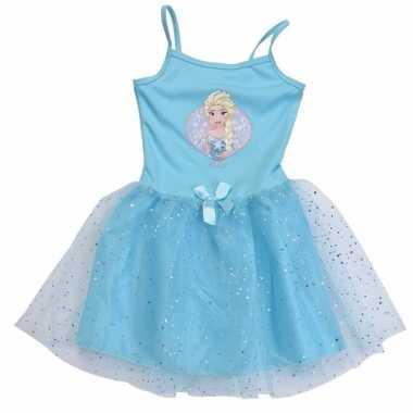 Carnaval leuke meiden jurk frozen kostuum
