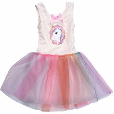 Carnaval leuke meiden jurk my little pony kostuum