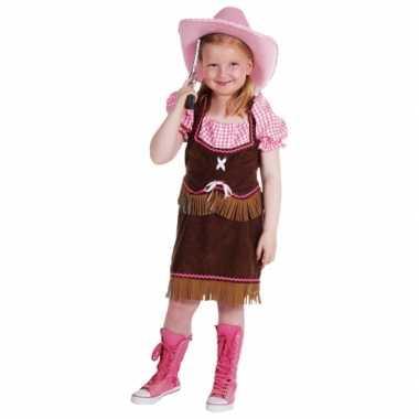 Luxe cowgirl carnavalskostuum kind