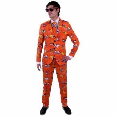 Carnaval luxe nederland kostuum heren
