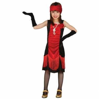 Carnaval  Maffioso jurkje meisjes kostuum
