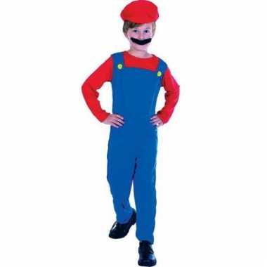 Mario kostuum kids