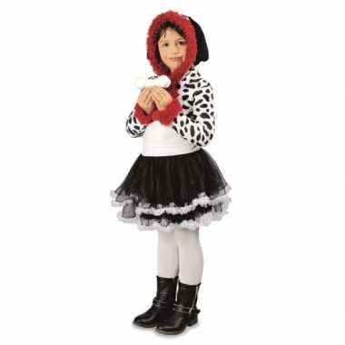 Carnaval meisjes dalmatier hond kostuum