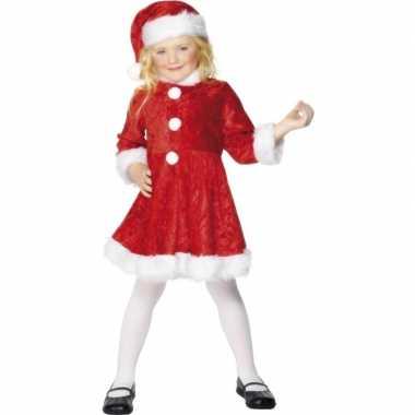 Carnaval  Meisjes kerstjurkje kostuum