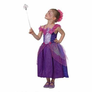 Carnaval  Meisjes sprookjes prinses kostuum