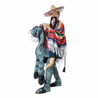 Carnaval  Mexicaan een ezel kostuum
