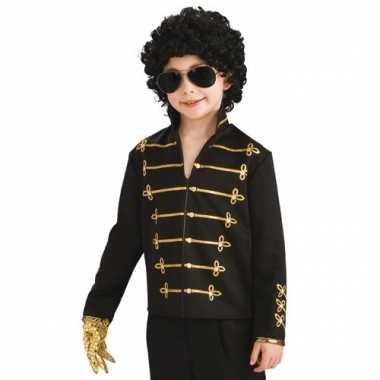 Carnaval  Michael Jackson Military jasje kind kostuum