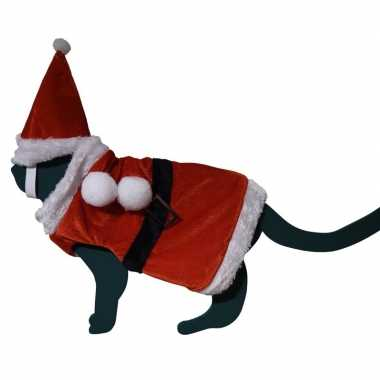 Carnaval mini kerst pak huisdieren kostuum