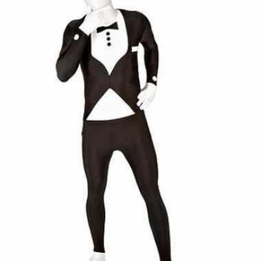 Carnaval  Morphsuit kostuum net kostuum zwart