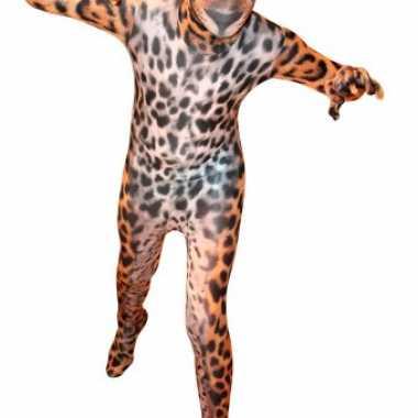 Carnaval  Morphsuit luipaard print kids kostuum
