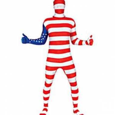 Carnaval  Morphsuit original Amerika kostuum
