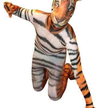 Carnaval  Morphsuit tijger print kids kostuum