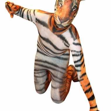 Carnaval  Morphsuit tijger print kostuum