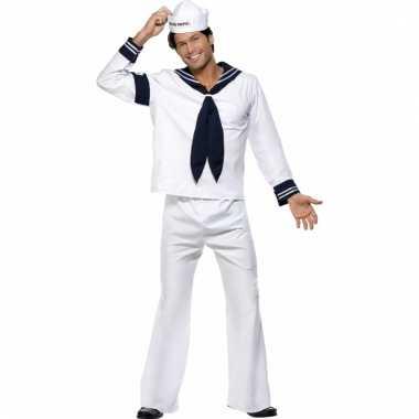 Navy matroos carnavalskostuum heren