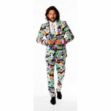 Carnaval  Nette smoking TV print kostuum