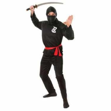 Ninja carnavalskostuum volwassenen