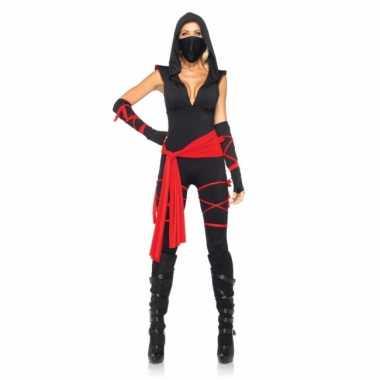 Carnaval  Ninja dames kostuum