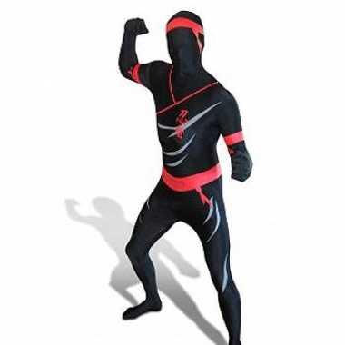 Ninja Zentai carnavalskostuum volw.