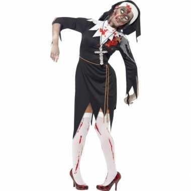 Carnaval  Nonnen kostuum bebloed