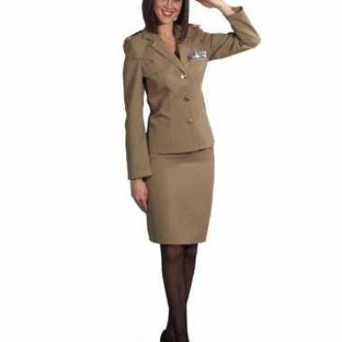Carnaval  Officier rok jasje dames kostuum