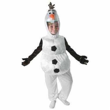 Carnaval  Olaf Frozen pak kinderen kostuum