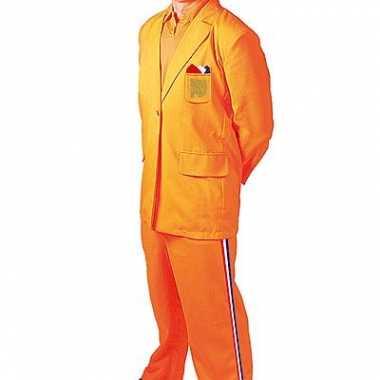Carnaval  Oranje kostuum Bobo