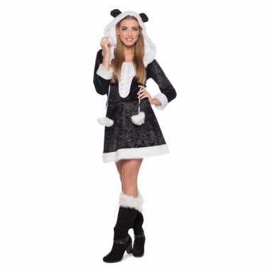 Carnaval panda dieren kostuum dames