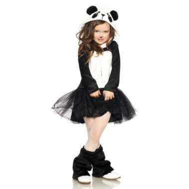Carnaval  Pandabeer jurkje meisjes kostuum