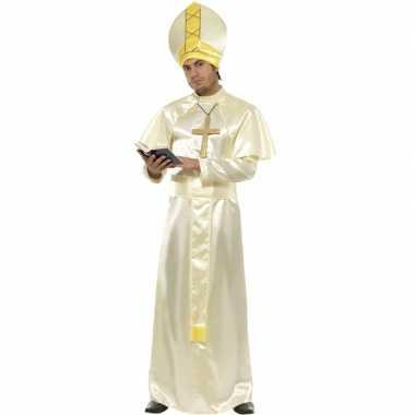 Carnaval  Paus kostuum compleet