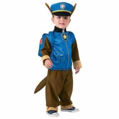 Carnaval paw patrol verkleedkostuum chase