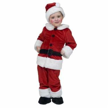 Peuter kerstman kostuum