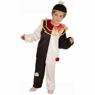 Carnaval  Pierrot clown kostuum kinderen