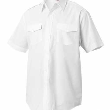 Piloten shirt korte mouwen