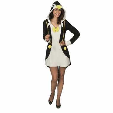 Carnaval pinguin verkleedjurk dames kostuum