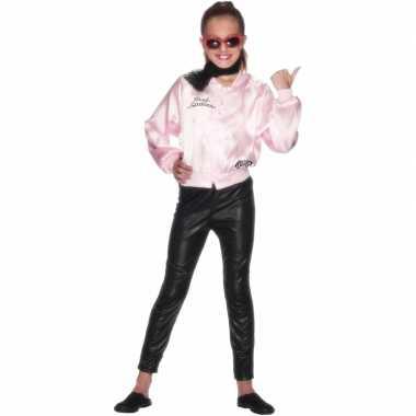 Carnaval  Pink Ladies jasje kids kostuum