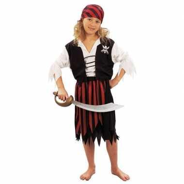 Carnaval  Piraten kostuum meiden