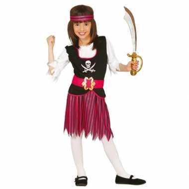 Carnaval  Piraten rokje hesje meisjes kostuum