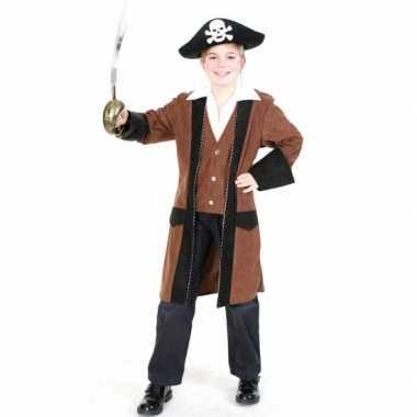 Carnaval  Piratenjas overhemd kinderen kostuum