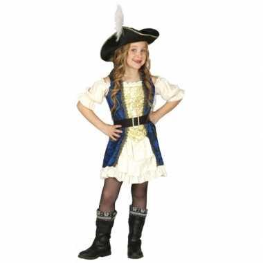 Carnaval  Piratenjurk meisjes kostuum