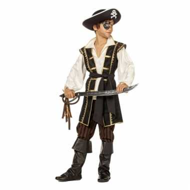 Carnaval  Pirates of the Caribbean bruin kostuum jongens