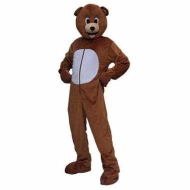 Carnaval  Pluche beren kostuum volwassenen