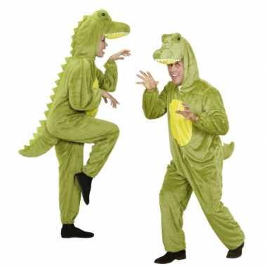 Pluche dierenkostuumken onesie krokodil